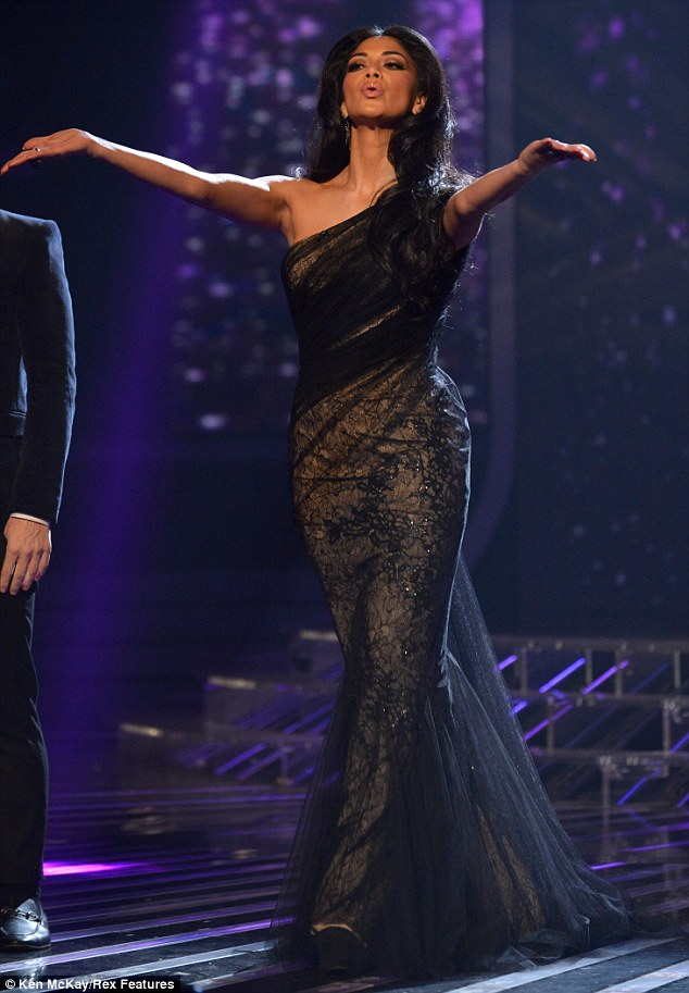 Winning! Nicole Scherzinger proved to be victorious once again during the fashion face-off with fellow judge Tulisa Contostavlos on Sunday evening's episode of The X Factor