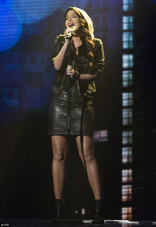 Super singer: While Tulisa's vocal performance was not at all bad the audience at home were not impressed