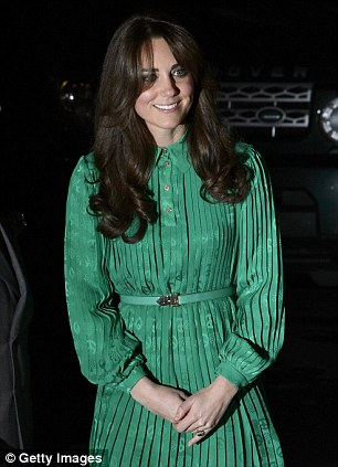 Catherine, Duchess of Cambridge attends the official opening of The Natural History Museums's Treasures Gallery at Natural History Museum on November 27, 2012 in London, England