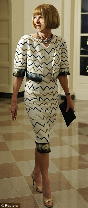 Wintour at the White House