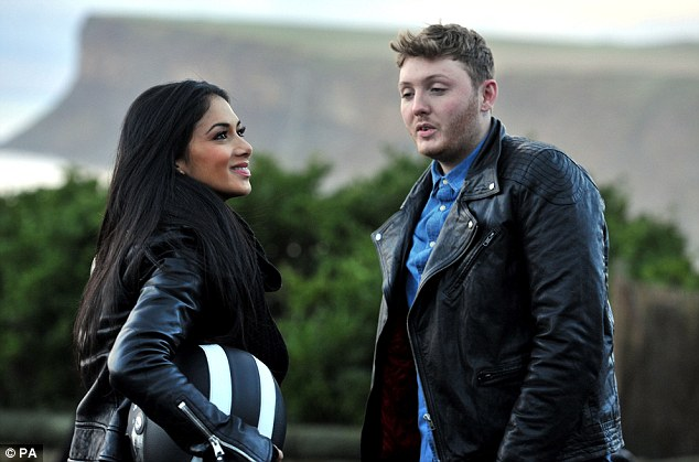 Starstruck: Nicole looked truly taken with all of James' stories of what he got up to in his neighbourhood