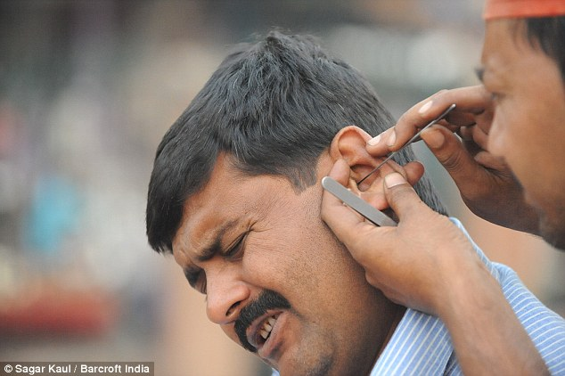 Wax Work Traditional Indian Ear Cleaners Who Charge 25p