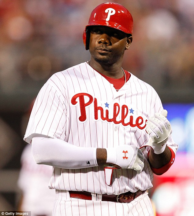 What was the attraction: At the moment it is unclear what she liked about the slugger, who is in the middle of a $125m contract with the Phillies