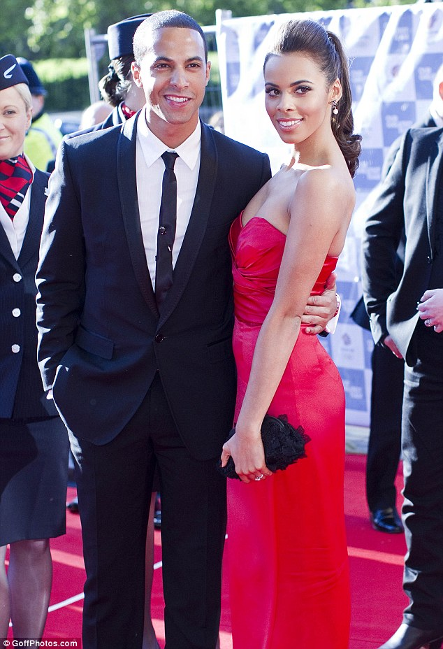Expectant parents: Rochelle and Marvin married earlier this year in a star-studded ceremony