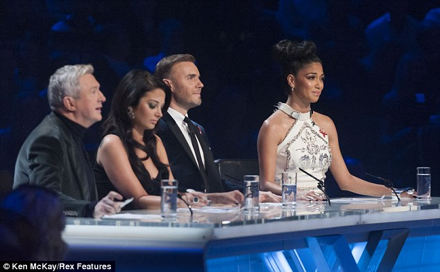 Staying focused: Nicole has said that seeing the talent on this year's show has made her want to make more music