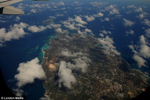 Below the clouds: Anguilla in the Caribbean as photographed from the air Eugene Delaney