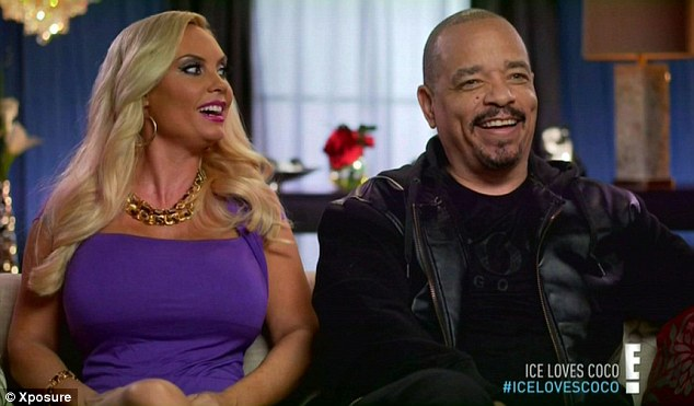 Long term: Coco and Ice-T have been married for 10 years and will celebrate their 11th wedding anniversary on New Year's Eve