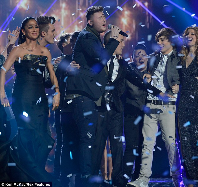 Winning! After Cheryl was sacked from the US X Factor she was replaced by Scherzinger, who was axed after one series but was then drafted in on the British version of the show and went on to win with James Arthur