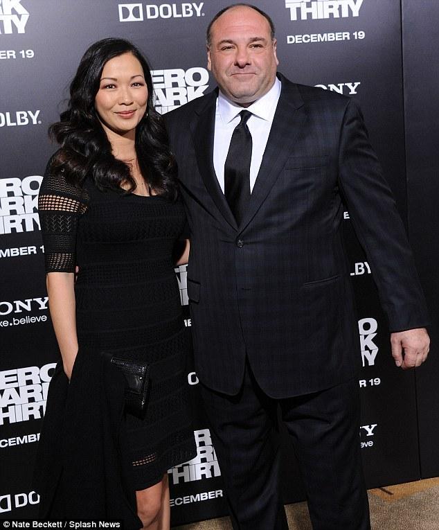 From mafia to CIA: Sopranos star James Gandolfini bought his wife Deborah Lin to the premiere