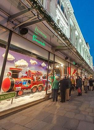 Christmas Shopping In Newcastle Designer Shopping Art