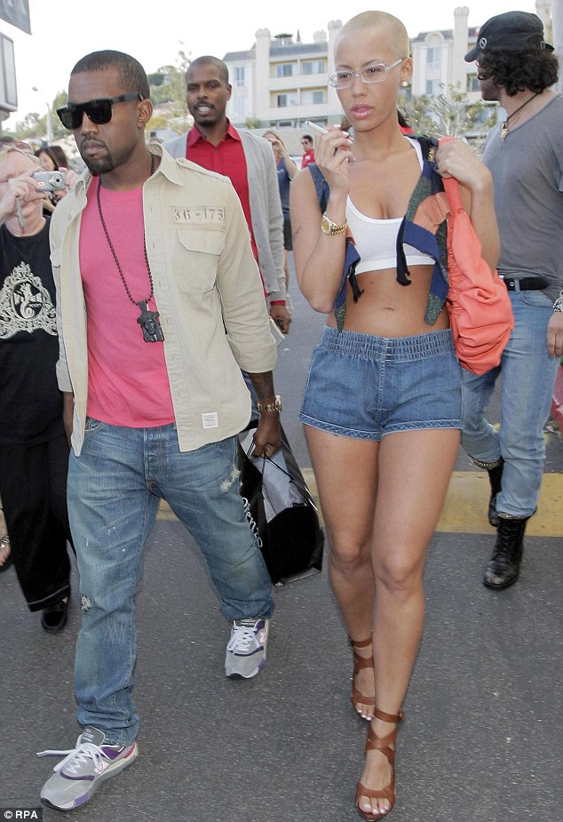 Thanks 'homewrecker': The 29-year-old model split with long time boyfriend Kanye West in 2010 claiming he cheated on her with Kim Kardashian