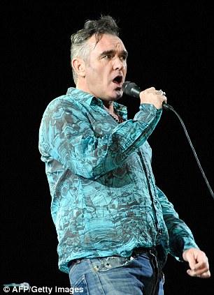 Singer Morrissey