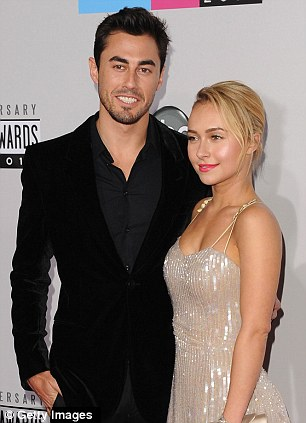 Hayden recently split with NFL star Scotty, pictured here at the American Music Awards last month