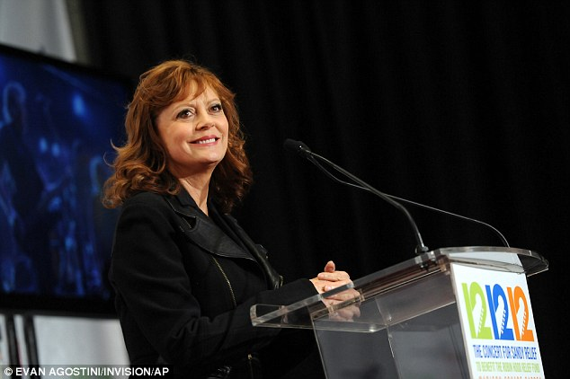 Backstage: Susan Sarandon took questions in the press room