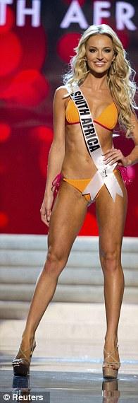 Miss South Africa: Melinda Bam