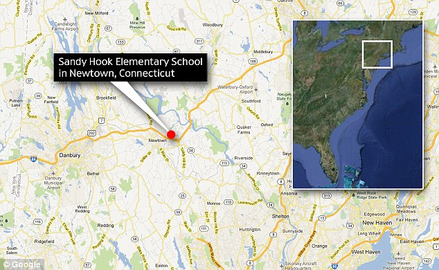 Sandy Hook Elementary School is located on Dickinson Drive in Newtown, Connecticut