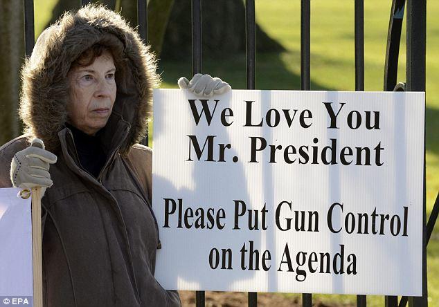 'Please put gun control on the agenda': Protests in Washington DC on Saturday