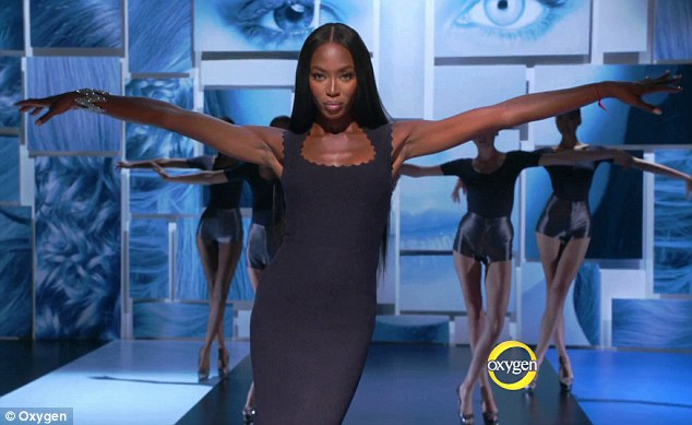 Cat fights: Naomi has allegedly had a huge bust-up with her much younger rival Coco Rocha