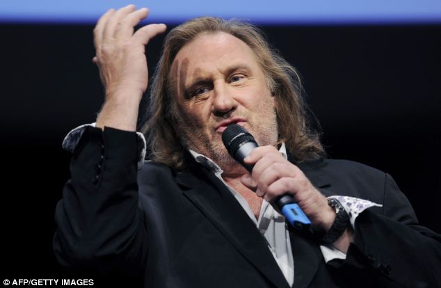 Leaving: French actor Gerard Depardieu has put his Paris mansion up for sale and will leave France in protest at tax hikes imposed by the government