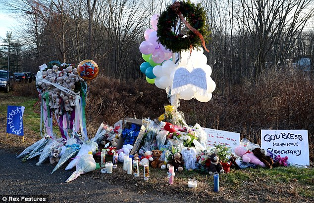 The Sandy Hook massacre left 26 dead - including 20 young children - after a gunman opened fire at the school in Newtown, Connecticut