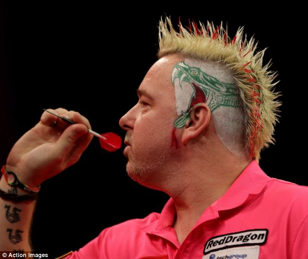 Peter Wright Darts Star Shows Off Crazy Haircut Daily