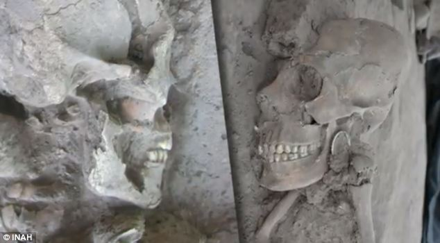 Dental disfigurements were also found is several of the skulls, which was believed to be a rite of passage