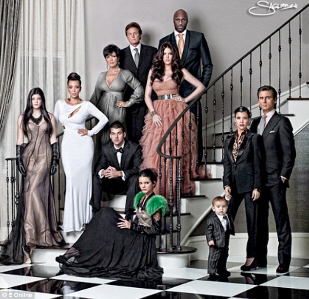 Mason's debut: In 2010 the family went for old school Hollywood glamour