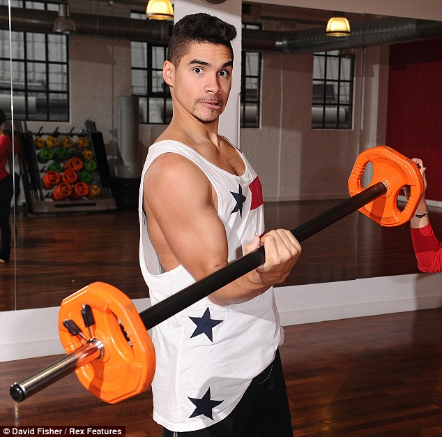 Olympic physique: Louis is still cutting a strong figure, despite his change of working out style