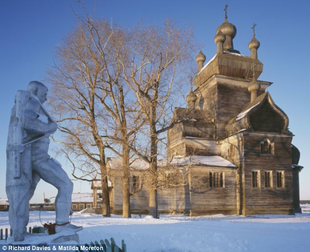 Most of those that survive are found in the sparsely populated north-western corner of Russia,