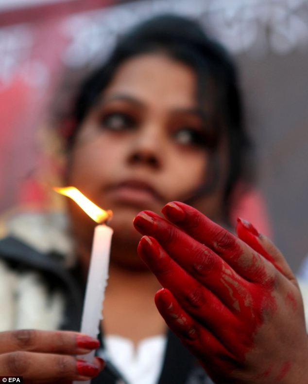 Delhi gang rape Agitation.