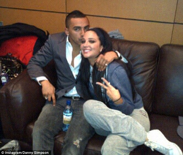 It must be love: Tulisa and Danny Simpson's romance seems to have gone from strength-to-strength over the Christmas period, with the pair cuddling up together for a series of cosy shots