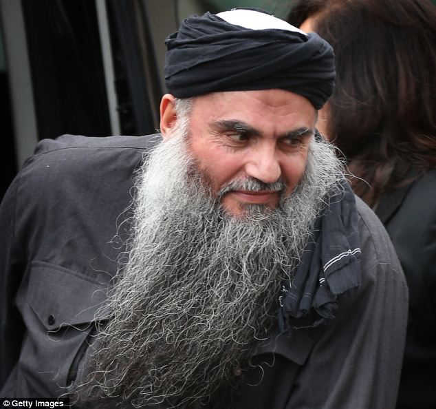 britains most hated man muslim terrorist abu qatada.The Home Office may move Qatada and his family again as they fear the information leak could lead to him and his relatives being attacked