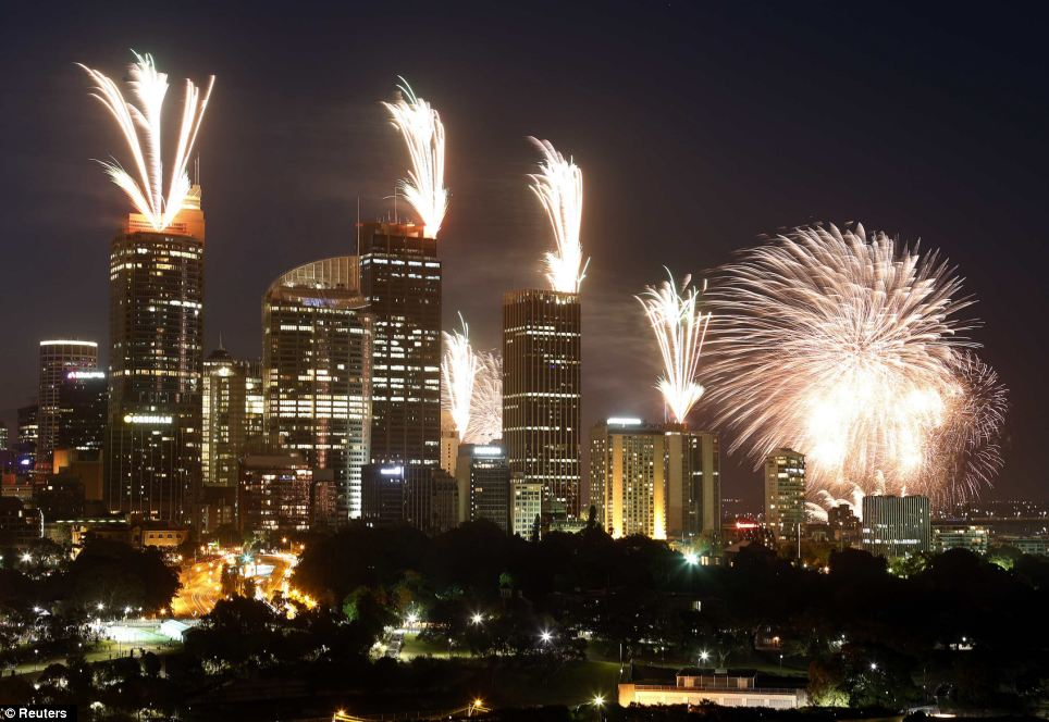 More than 1.5 million people were expected to line the foreshores of the harbour to watch the annual fireworks show