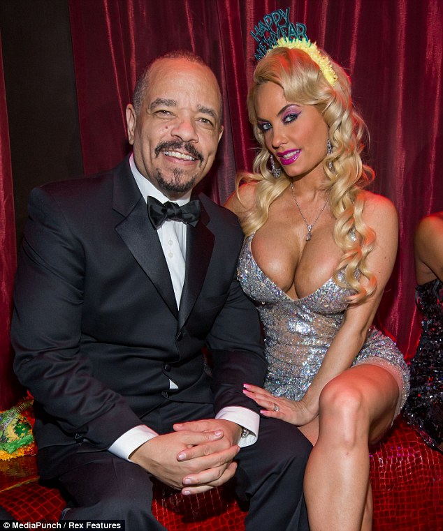 All is forgiven: Ice-T and wife Coco Austin put on a united front as they celebrate New Year's Eve together in Las Vegas