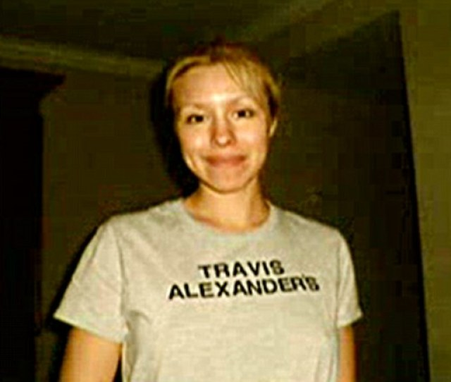 Possessive The Jury Was Shown A Picture Of Arias In A T Shirt Alexander