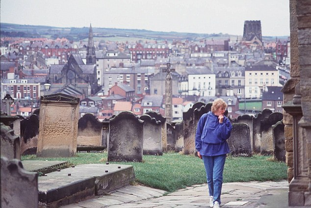 The future of the historic graveyard at St Mary's Church in Whitby is in danger after the nearby cliff began crumbling away