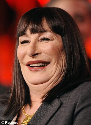 worried that you re turning into the double chinned likes of anjelica huston here s how to lose