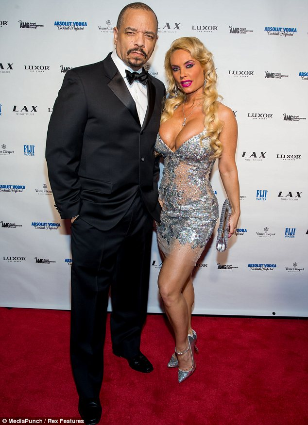 Ice Loves Coco: Coco's husband Ice-T joined her in Vegas to celebrate New Year's Eve together