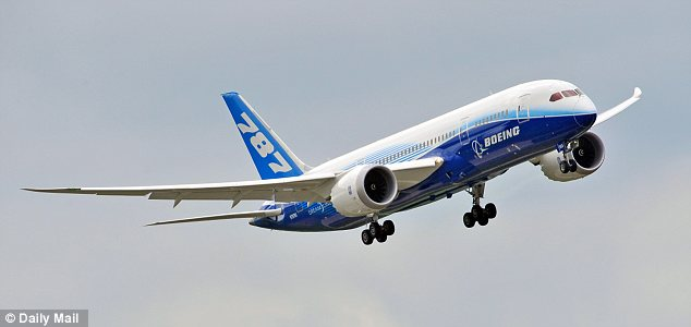 High tech: The 787, which Boeing calls the Dreamliner, relies more than any other modern airliner on electrical signals to help power nearly everything the plane does