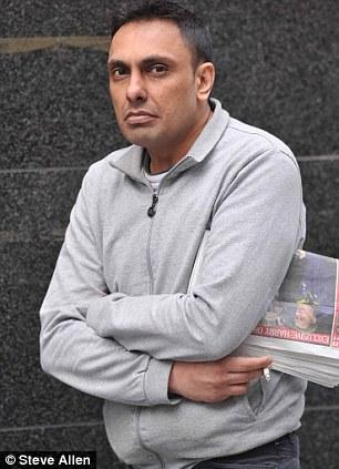 Shafak Hussain at court