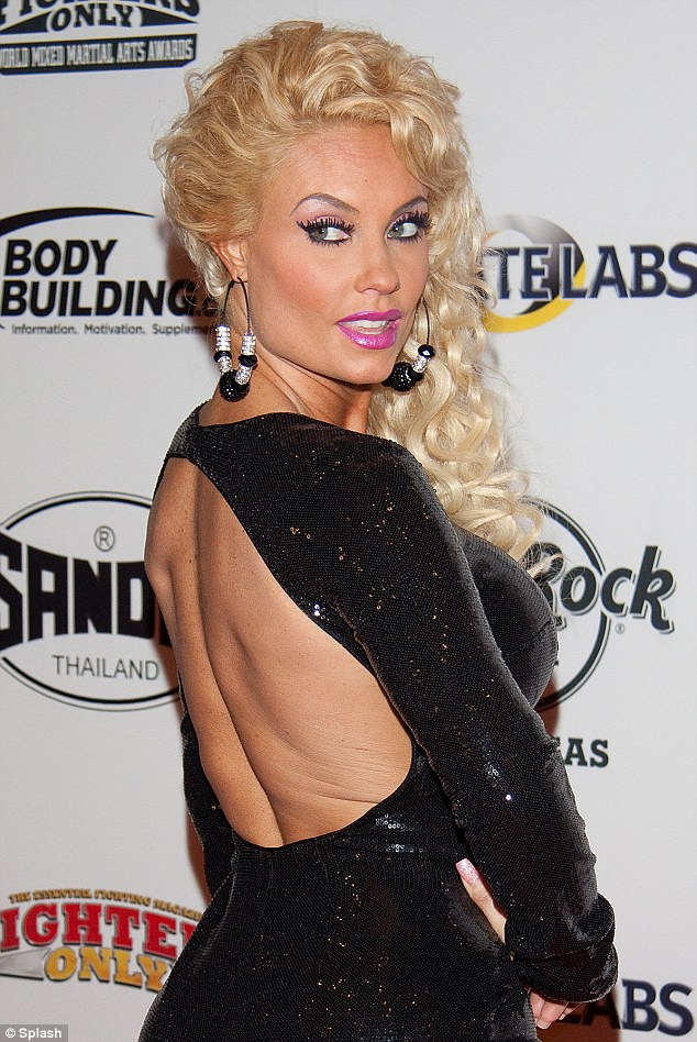 Sneak peek: Coco showed off her bare back through a cut out in her black dress
