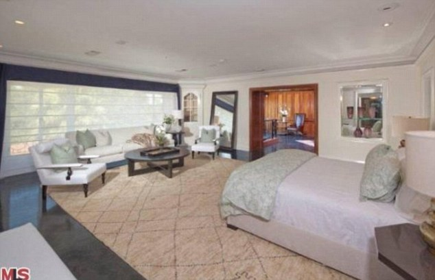 Bed boy for life: The rapper will have a bedroom worthy of the title if he obtains the spacious home