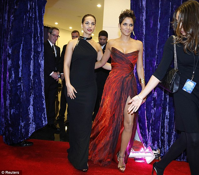 Star pals: Alicia Keys stepped out with the actress