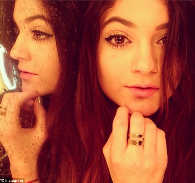 Kylie Jenner Shows Off Cartier Ring But Remains Coy About
