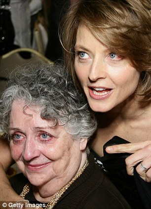 Emotional: Jodie thanked her former partner Cydney Bernard and her mother Evelyn 'Brandy' Almond, both pictured in 2007