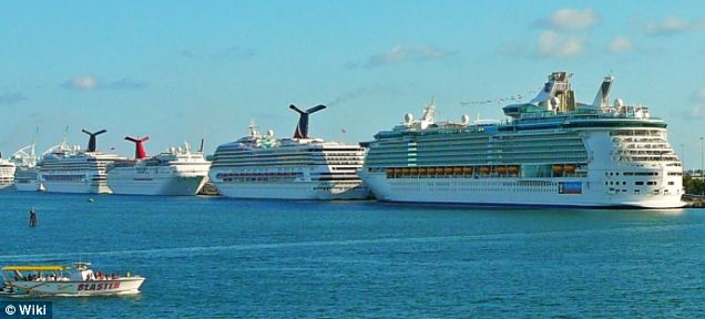 PortMiami: The couple reportedly came upon the cruise ship after approaching PortMiami, one of the busiest cruise ship ports in the U.S.