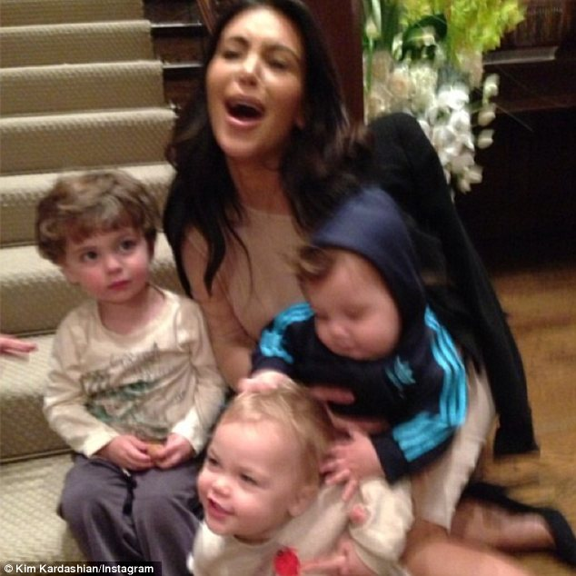 Good practice: Kim was a little overwhelmed when she had to babysit three children