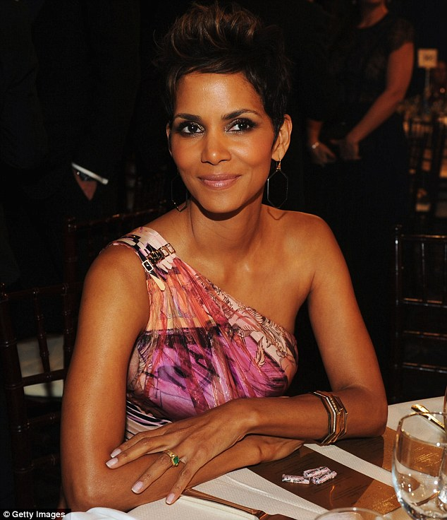 Too much: The wild dress had too much going on and looked a little tacky; even on Halle