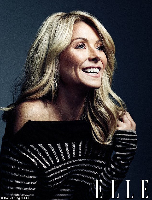 Beautiful after 40: Live! with Kelly and Michael host Kelly Ripa told Elle Magazine she receives Botox injections every seven months in order to keep her pretty face looking its best
