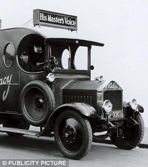 HMV delivery van
